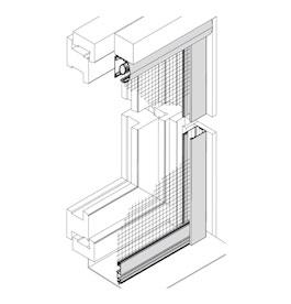Insektenschutz-Rollo für Fenster