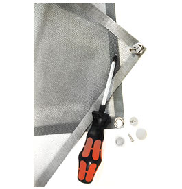 Schirm Sonderlösung Insektenschutz
